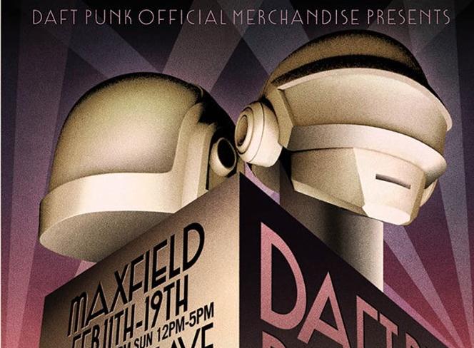 Daft Punk eröffnen Pop-up Shop in L.A.