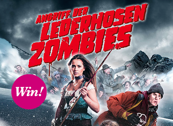 """Angriff der Lederhosenzombies"" – wir verlosen DVD & Blu-ray"