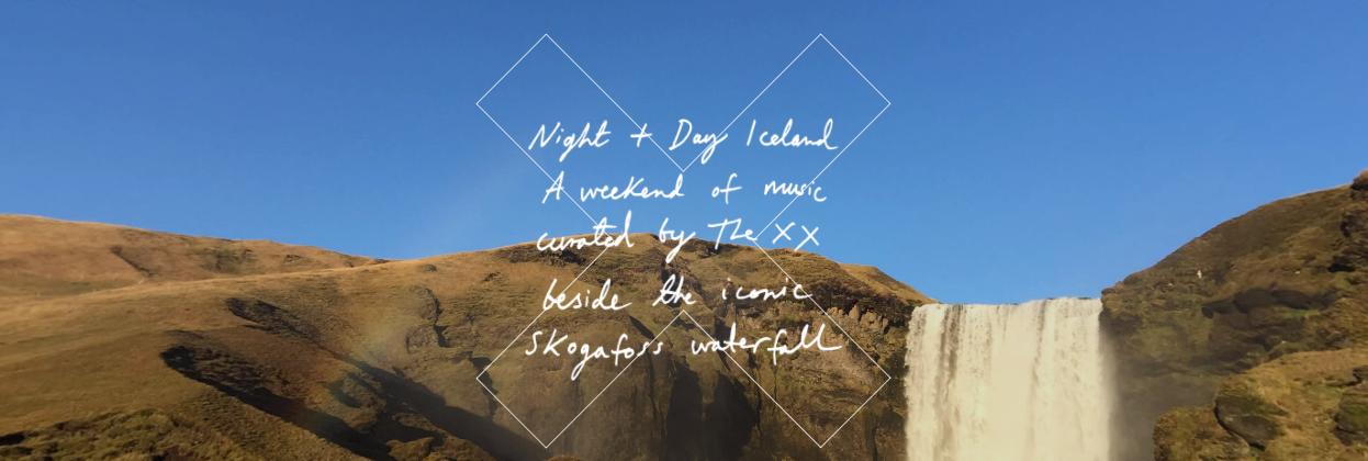 """The xx kommen mit """"Night + Day"""" nach Island zum Skogafoss"""