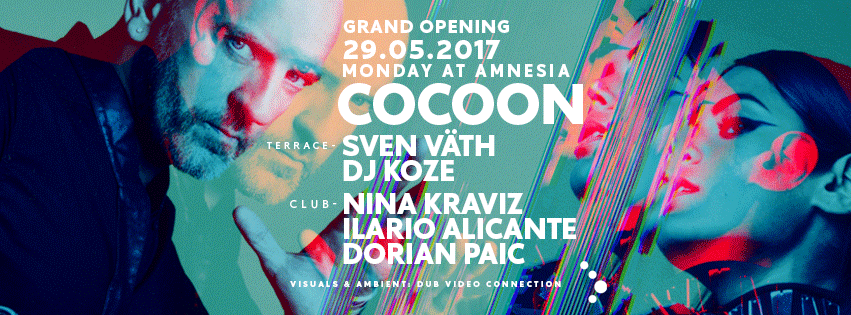 Cocoon Ibiza Opening – hier ist der Timetable