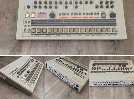 Daft Punk verkaufen ihre TR-909 Drum Machine