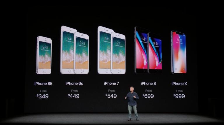 Apple präsentiert das iPhone 8 – und das iPhone X