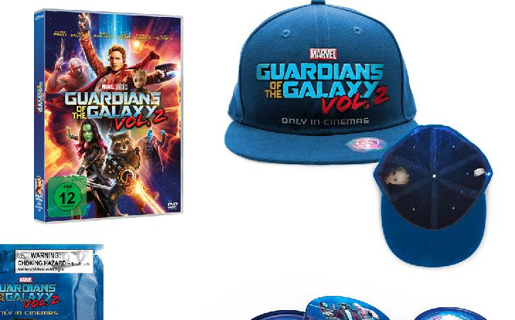 "Wir verlosen: ""Guardians Of The Galaxy Vol. 2"" – DVD/Blu-ray & Merchandise"