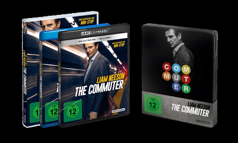 """Wir verlosen zwei Blu-rays des Liam Neeson-Thrillers """"The Commuter"""""""