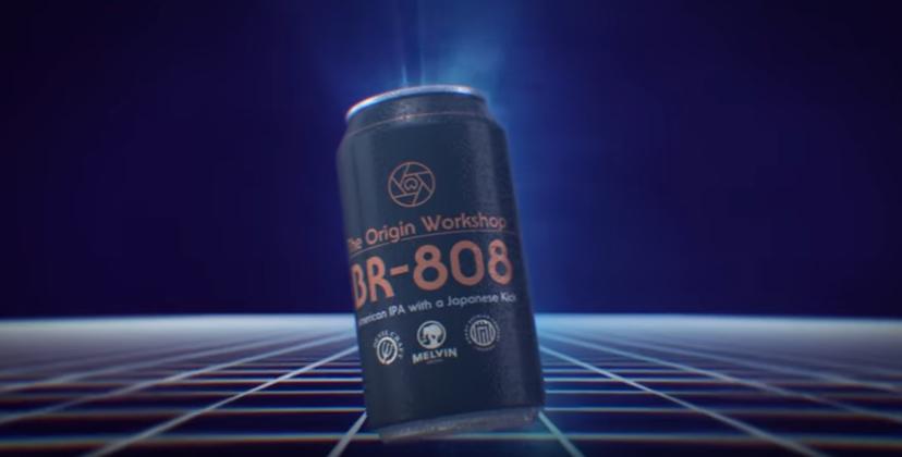 BR 808 – das ist das erste TR-808-inspirierte Techno-Bier