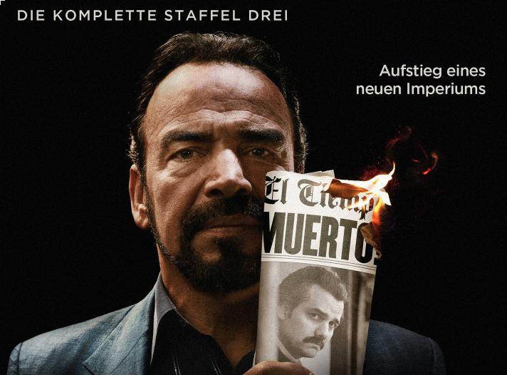 Neu auf DVD & Blu-ray: Narcos – Staffel 3 (Verlosung)