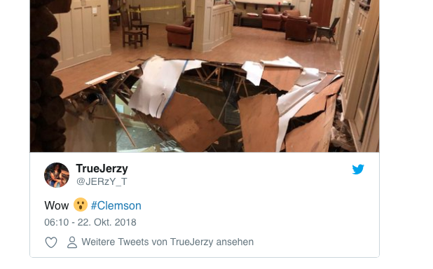 Boden bricht auf Party ein –zahlreiche Verletzte