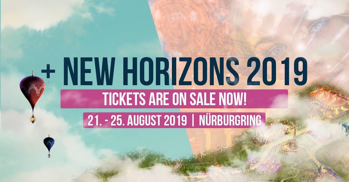 Vorverkaufsstart für das New Horizons Festival 2019 am Nürburgring