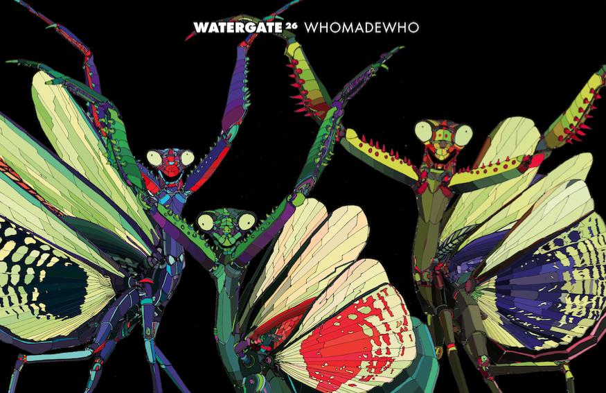 "WhoMadeWho mixen ""Watergate 26"""