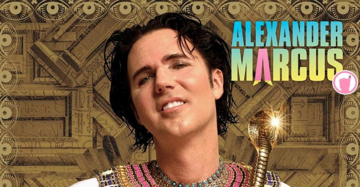 Alexander Marcus ist wieder da –Pharao!