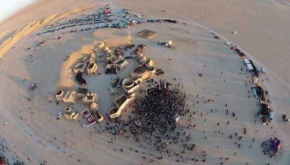 Feiern in Star-Wars-Kulisse –Les Dunes Électroniques sind zurück
