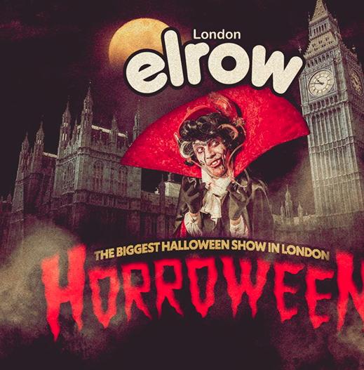 Elrow schmeißt Halloween-Rave in Londoner Lagerhallen