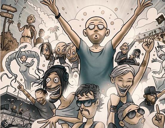 Bringmann & Kopetzki entwerfen Poster für 20 Jahre Cocoon Ibiza