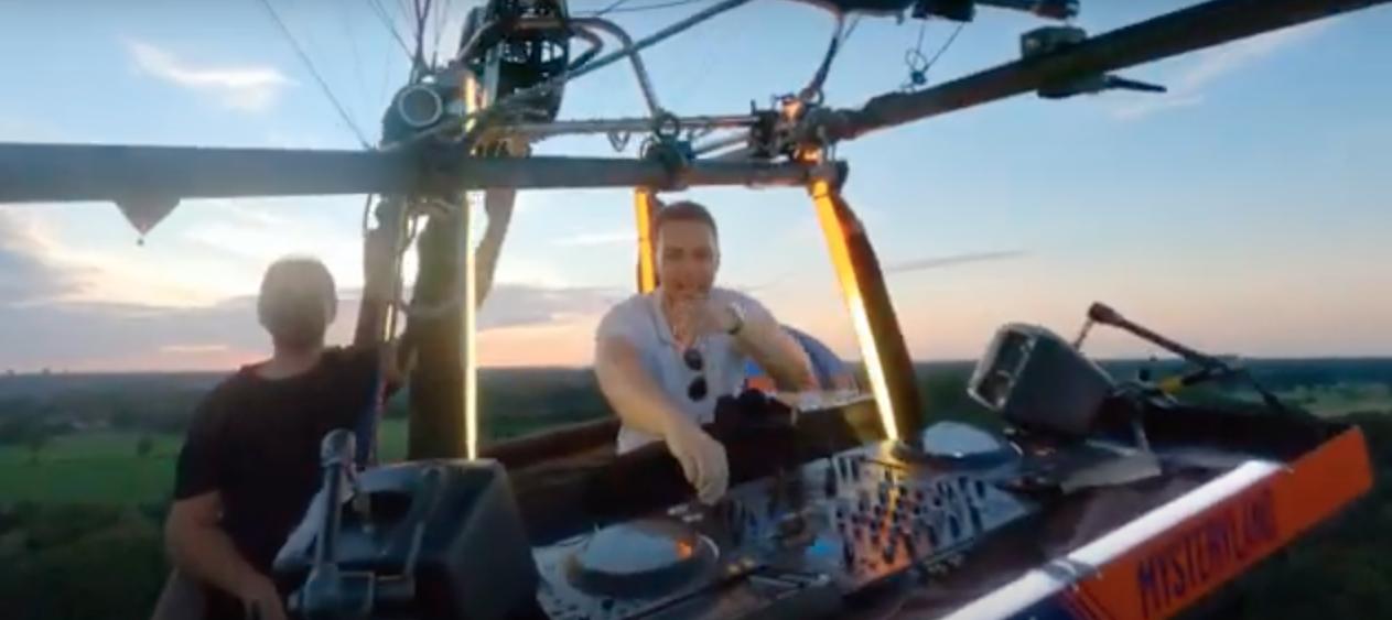 Paul van Dyk spielt DJ-Set in Heißluftballon – so wird Mysteryland 2020