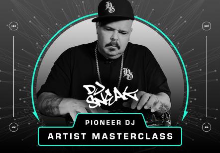 Die Pioneer DJ Artist Masterclass geht in die nächste Runde – mit DJ Sneak
