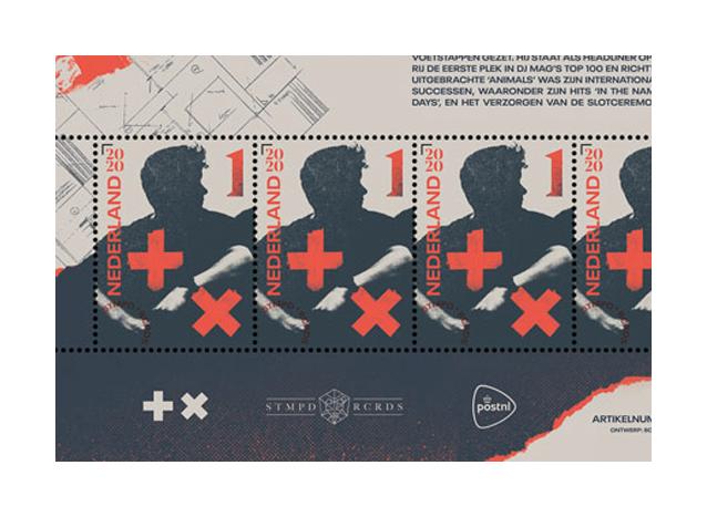Niederländischer EDM-Star bekommt eigene Briefmarke!