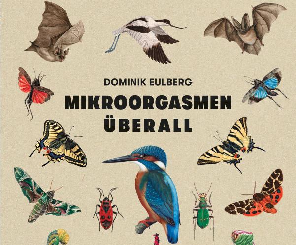 """""""Mikroorgasmen überall"""" – Dominik Eulberg veröffentlicht Naturbuch"""