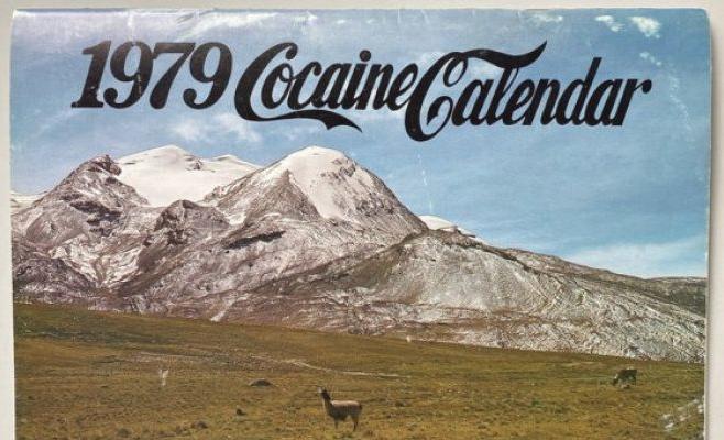 Bestellt euch diesen Kokain-Kalender aus den 70ern