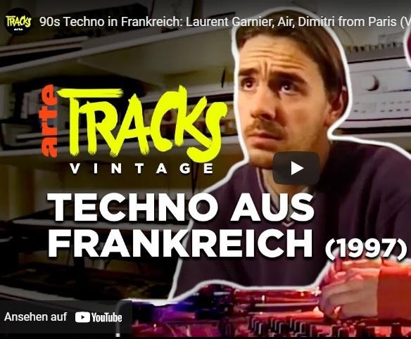 """""""90s Techno in Frankreich"""": Dokumentation über Laurent Garnier & Co."""