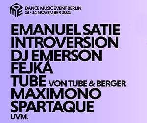 Das Berlin Dance Music Event 2021 kommt im November